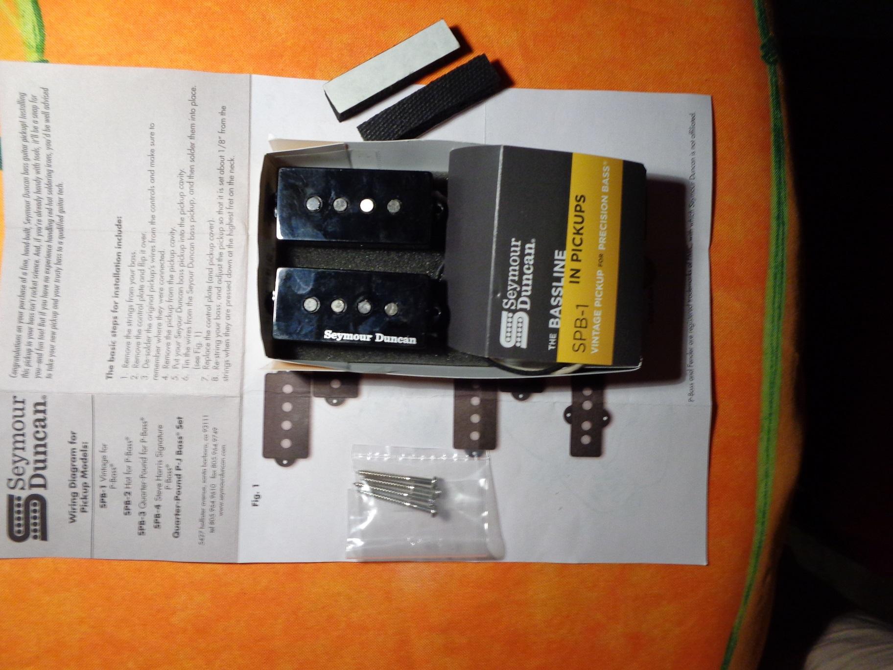 Seymour Duncan SPB-1 Vintage for P-Bass image (#1578371) - Audiofanzine
