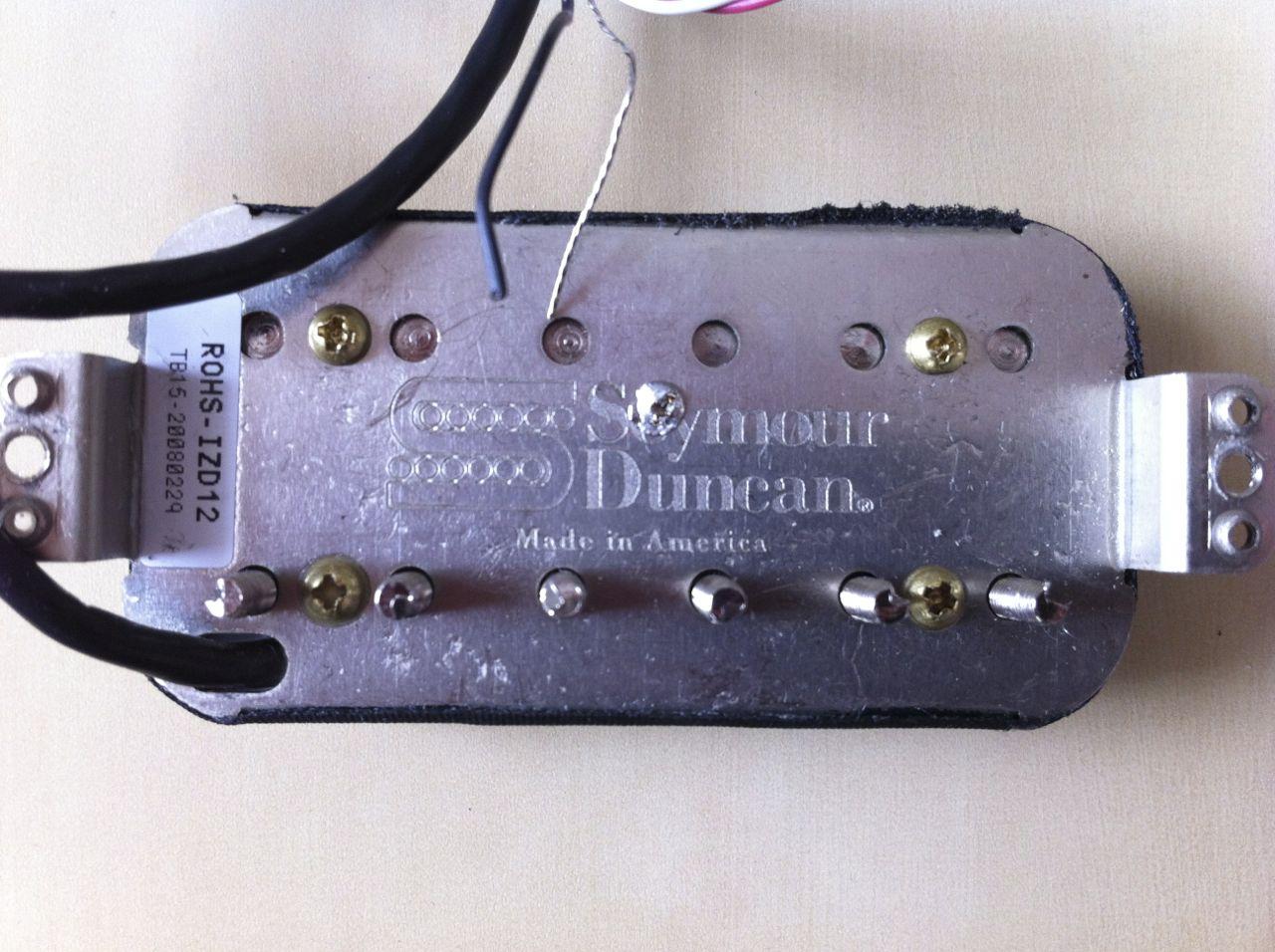 Tolle Seymour Duncan Drahtfarben Fotos - Die Besten Elektrischen ...