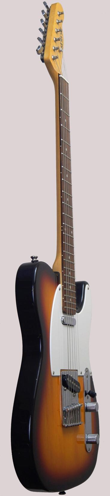 Shine Korea vintage sunburst Tele at Ukulele Corner