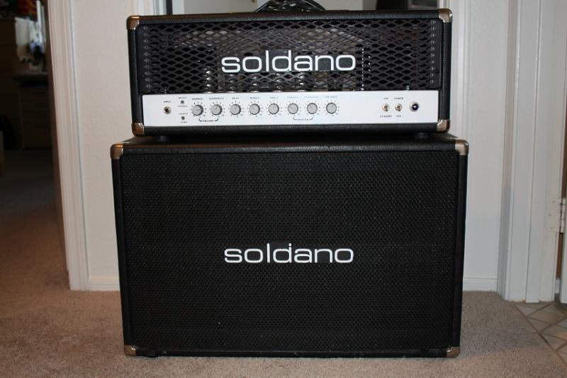Great Little Cab! - Reviews Soldano 2x12 Standard Cabinet ...