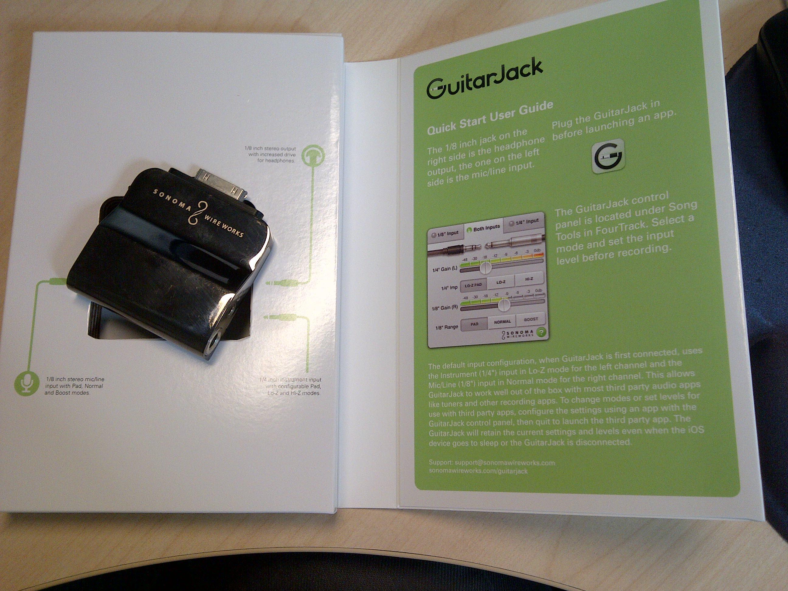 GUITARJACK MODEL 2 - Sonoma Wire Works GuitarJack Model 2 - Audiofanzine