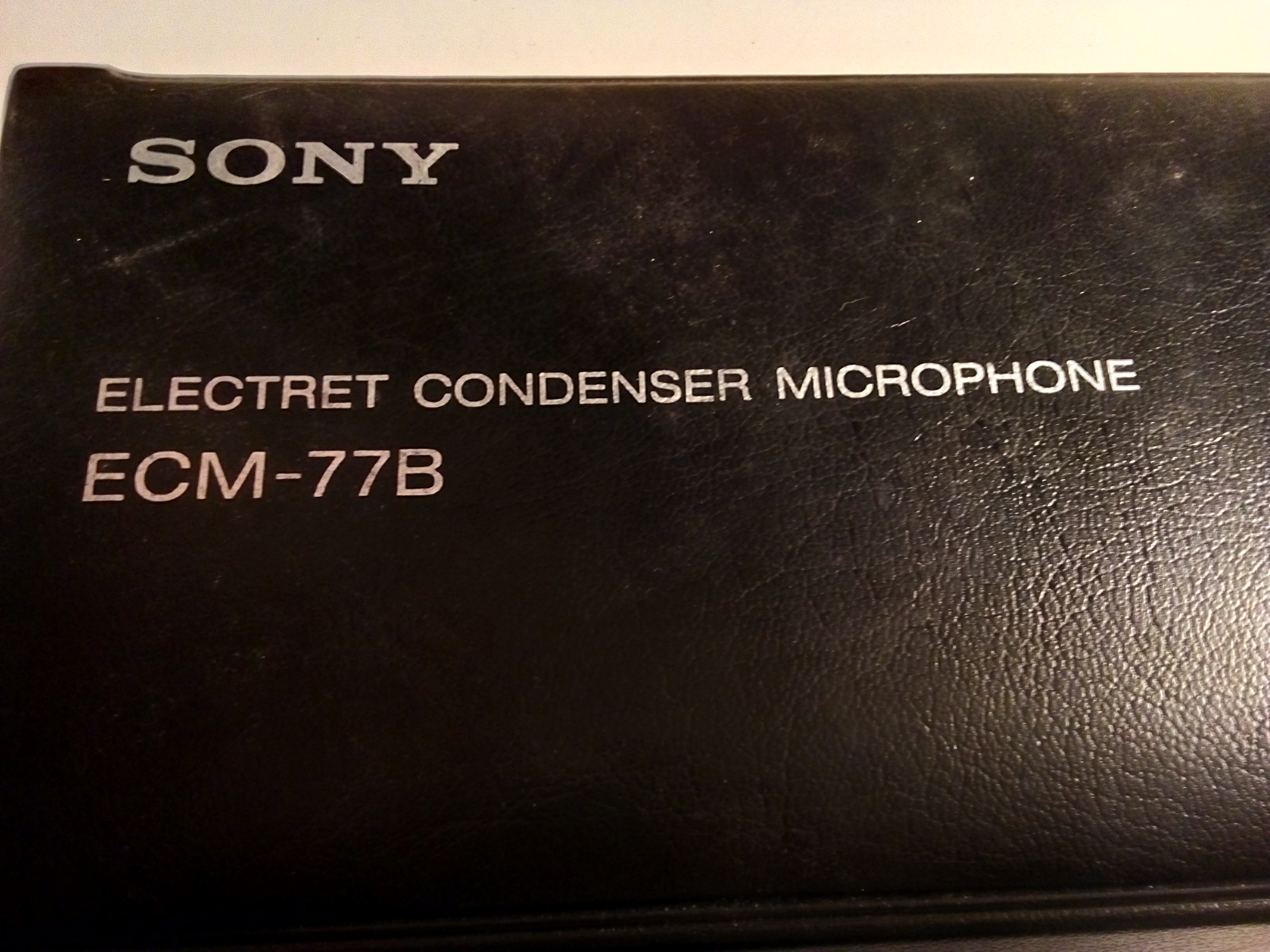 Ecm 77b Sony Audiofanzine Electret Microphone To Xlr Wiring Together With Sc4060 Dpa Microphones