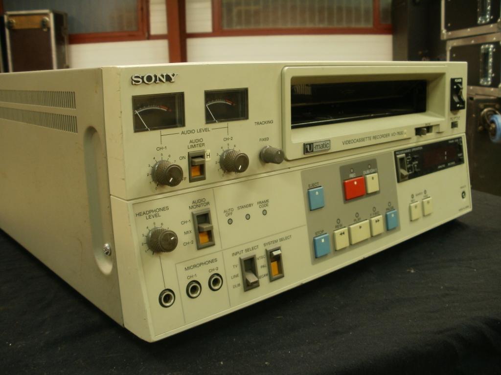 Sony U-Matic VP-5000 Videocassette Player Parts unit | eBay