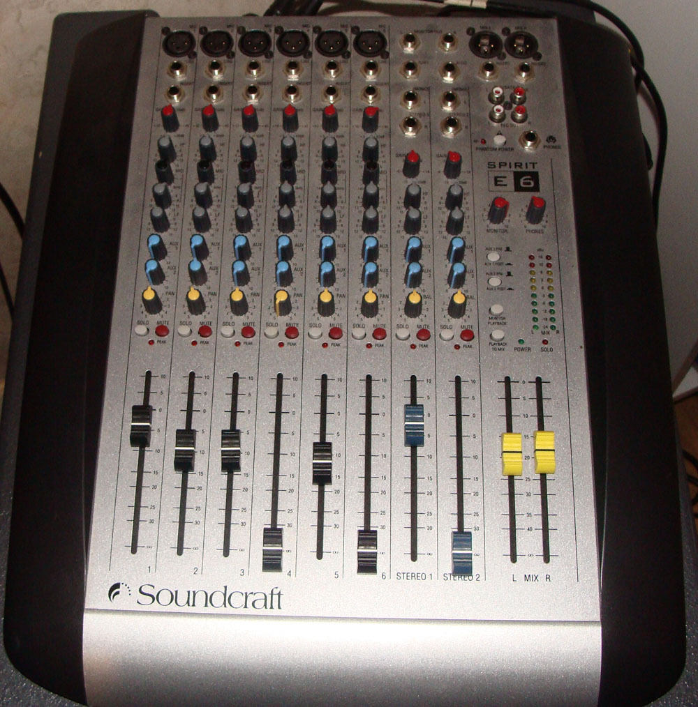 Home Audio Mixer
