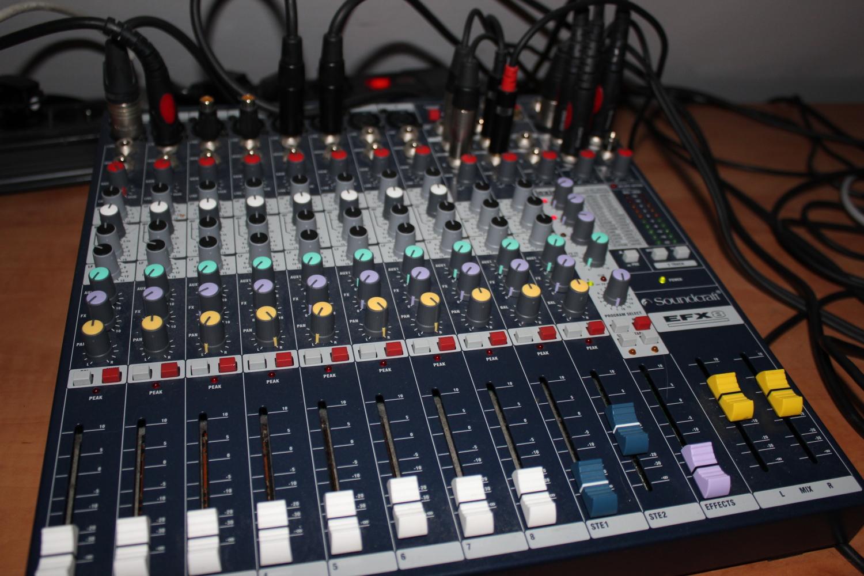 Kết quả hình ảnh cho Bộ mixer soundcraft EFX8