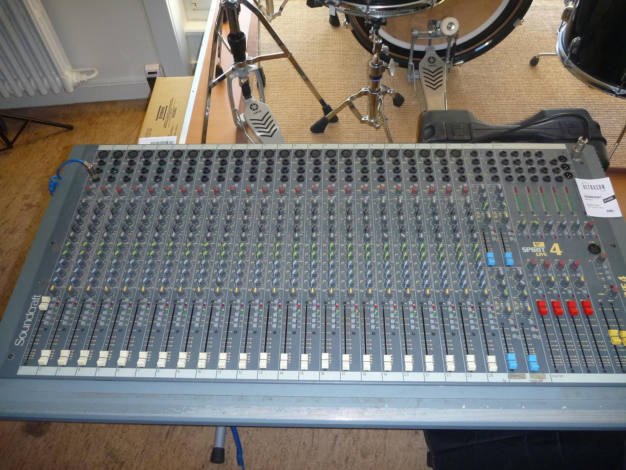 table de mixage 24 pistes occasion