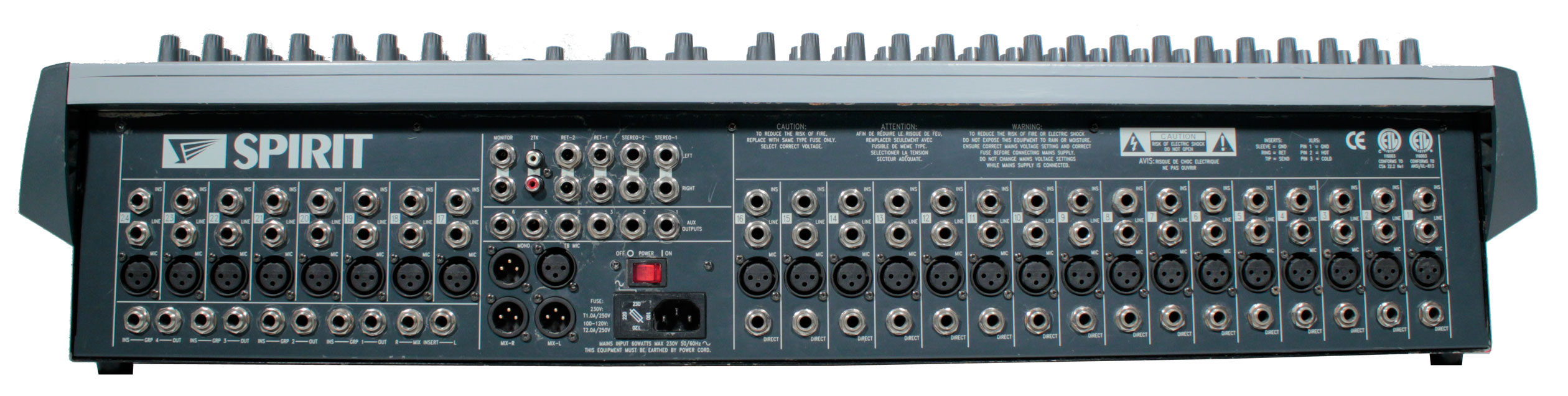 SOUNDCRAFT LX7II USER MANUAL Pdf Download