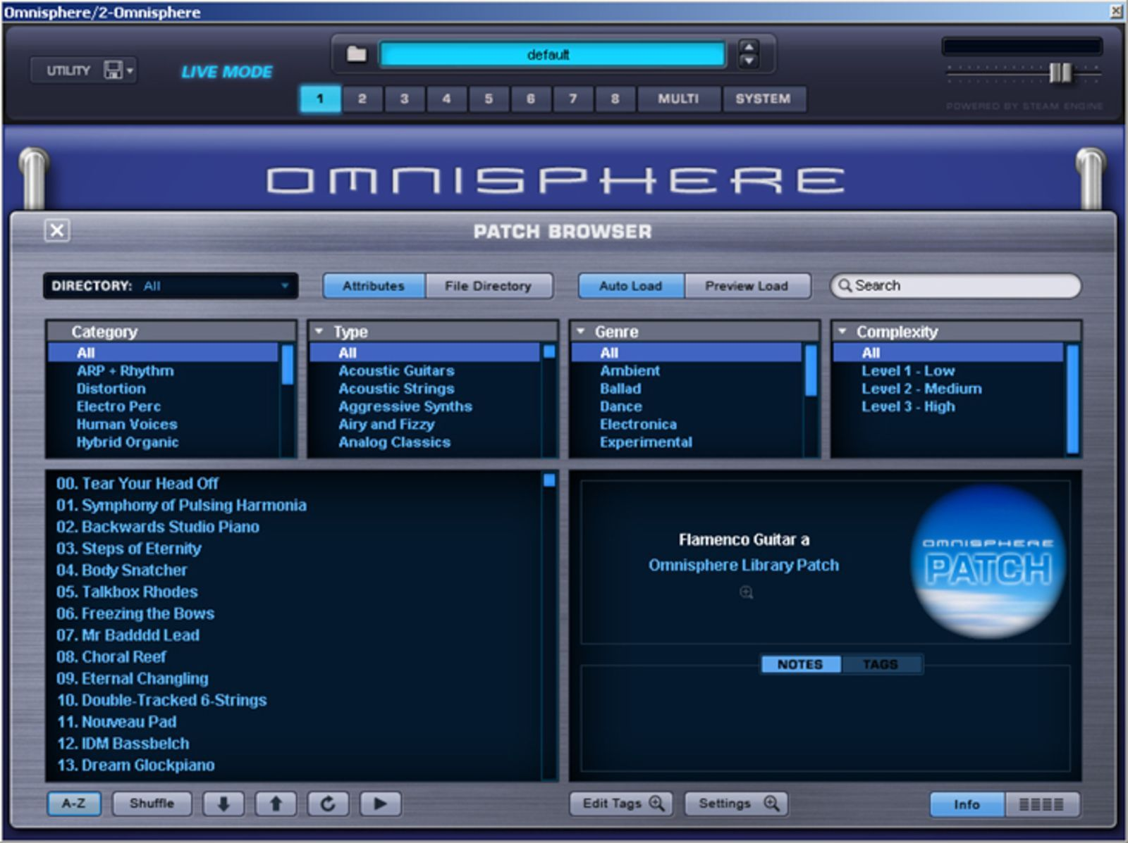 Introduction : Spectrasonics Omnisphere: Omnipotent & Omnificent