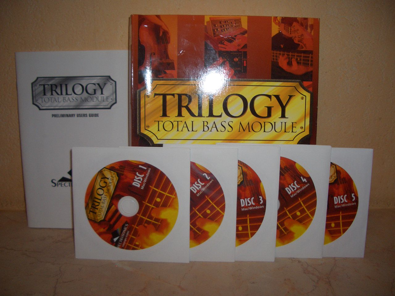 Spectrasonic trilogy