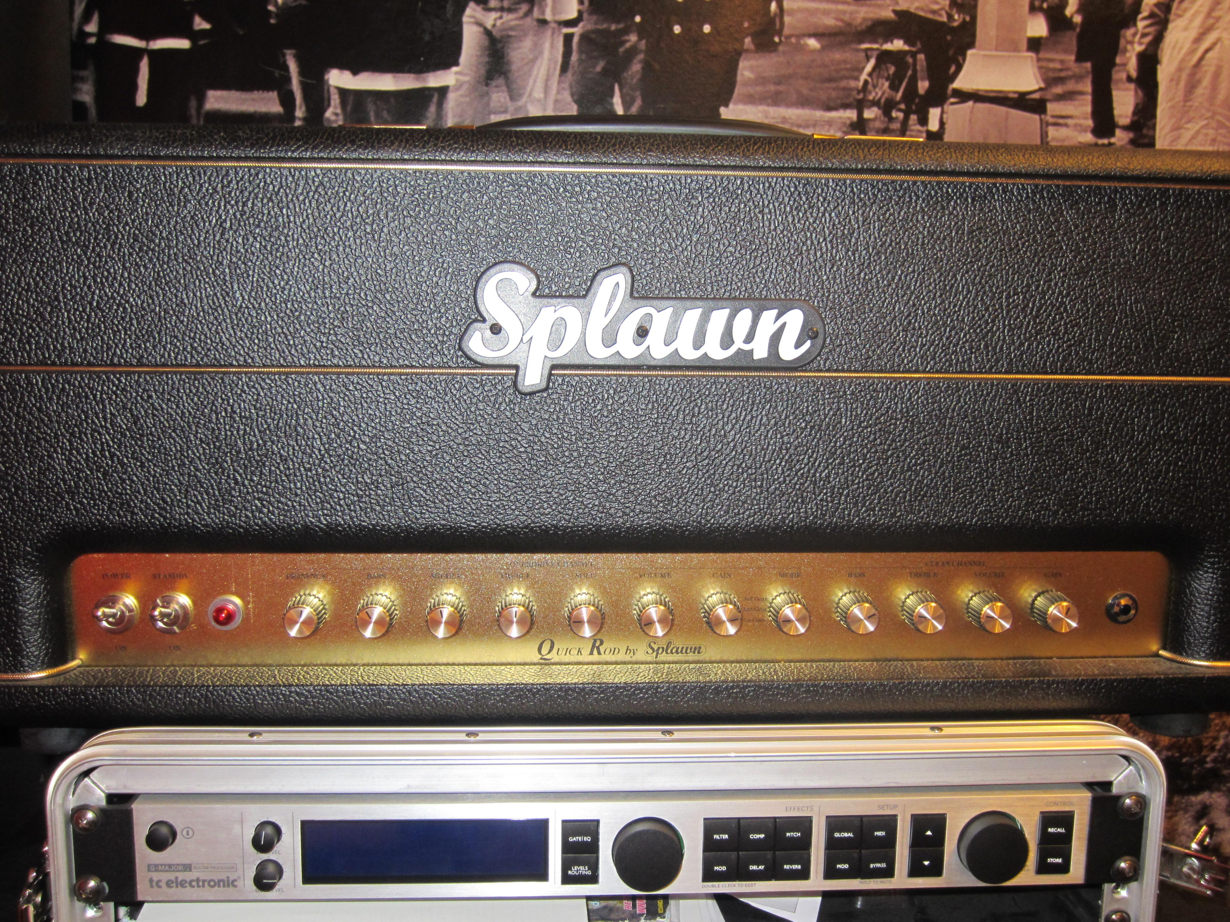 splawn amplification quick rod image 511487 audiofanzine rh en audiofanzine com Splawn vs Marshall Splawn Quick Rod Front Panel