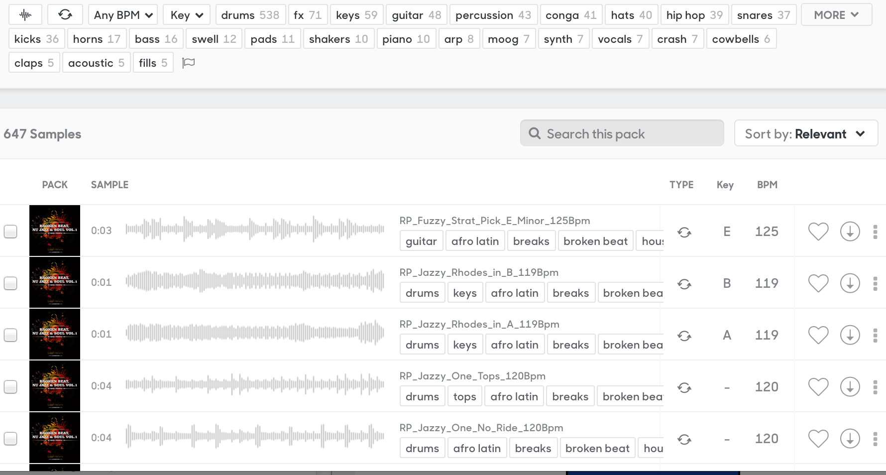 how to download samples splice