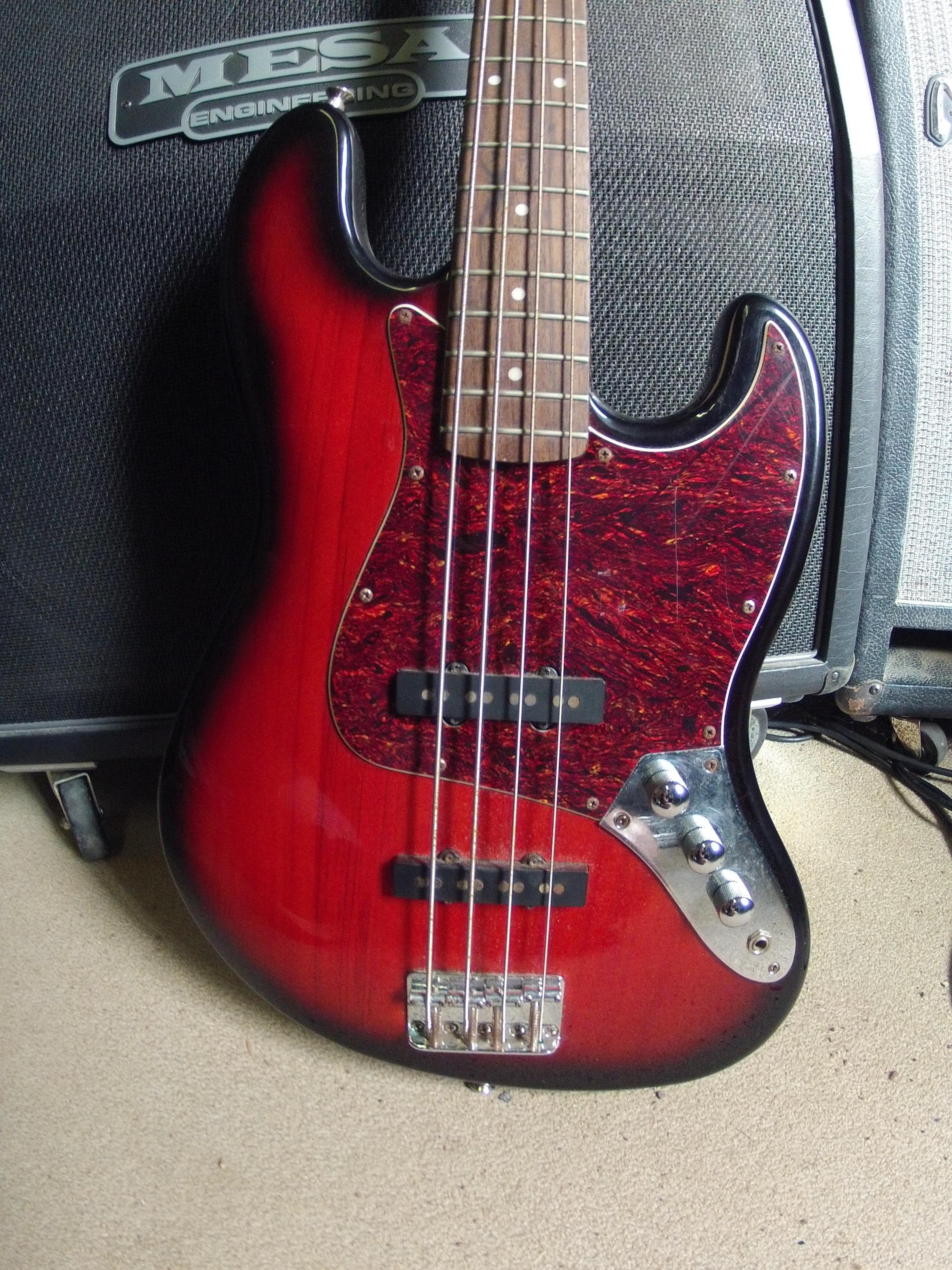 Squier Standard Jazz Bass Antoinemzr Images
