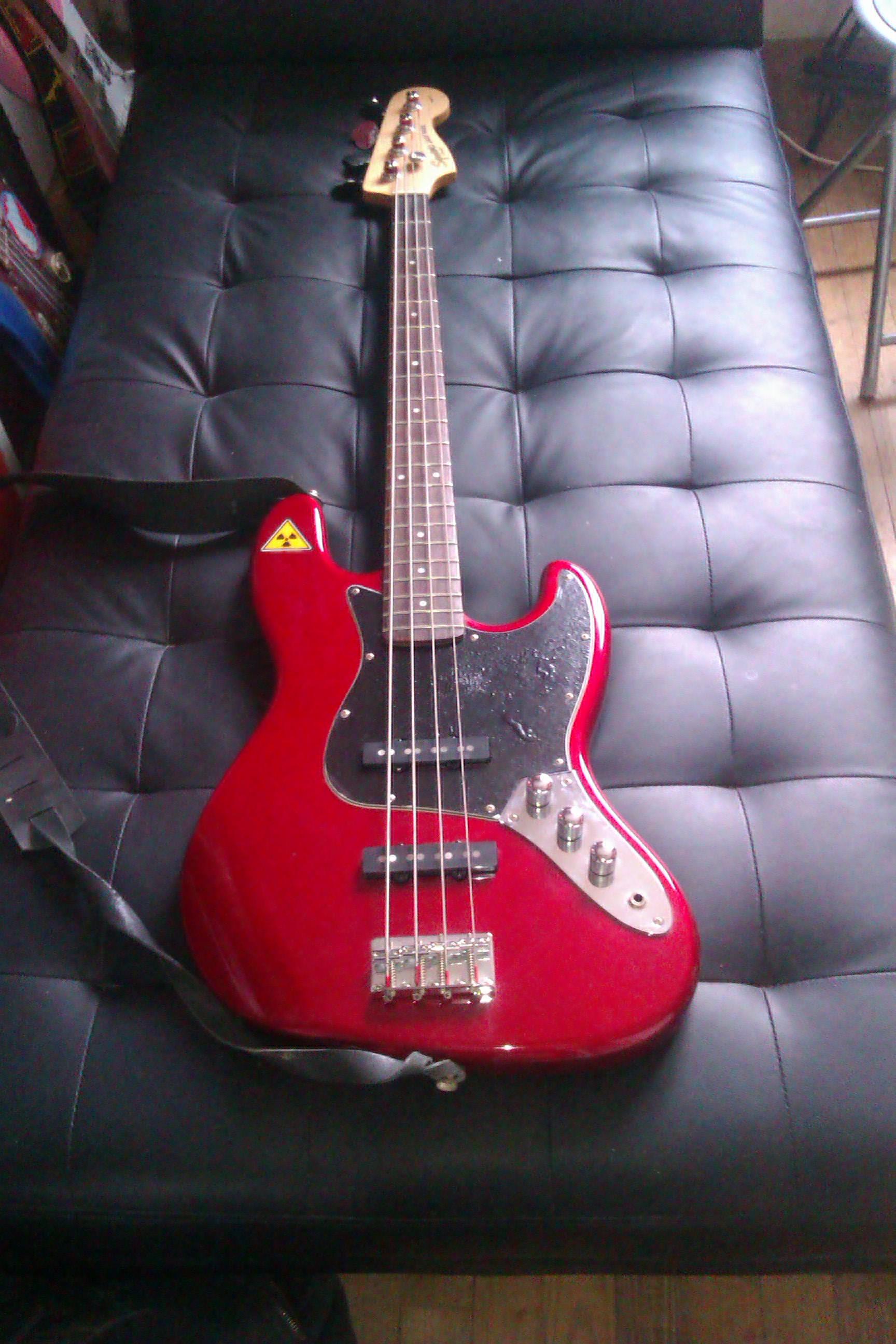 Squier Standard Jazz Bass Vinsaw Aden Ohm Images