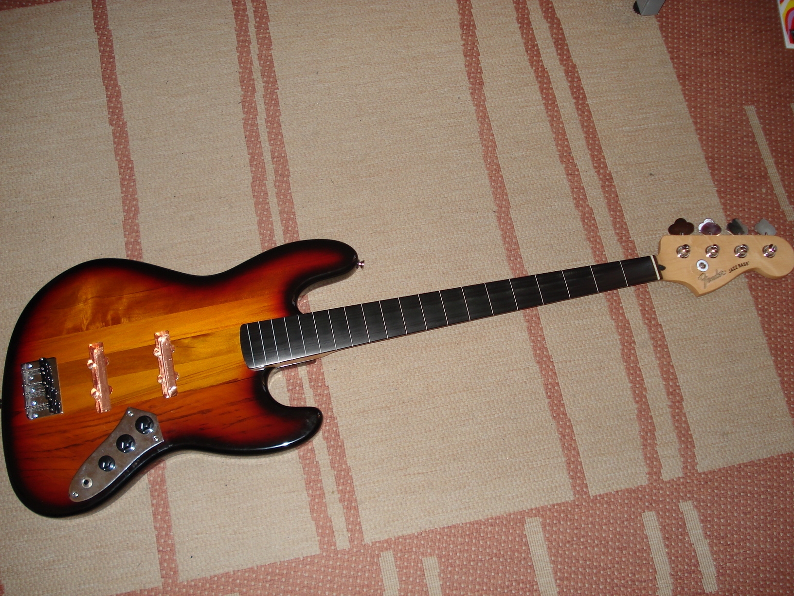 Squier vintage modified s jazz bass what from