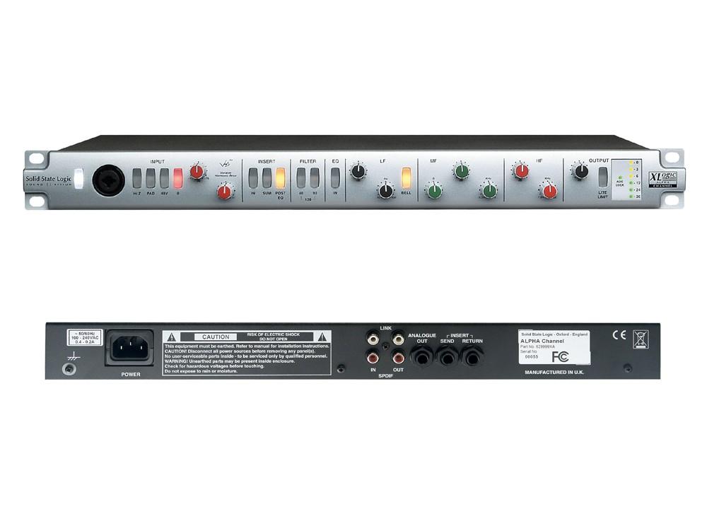 ssl xlogic alpha channel image 361409 audiofanzine