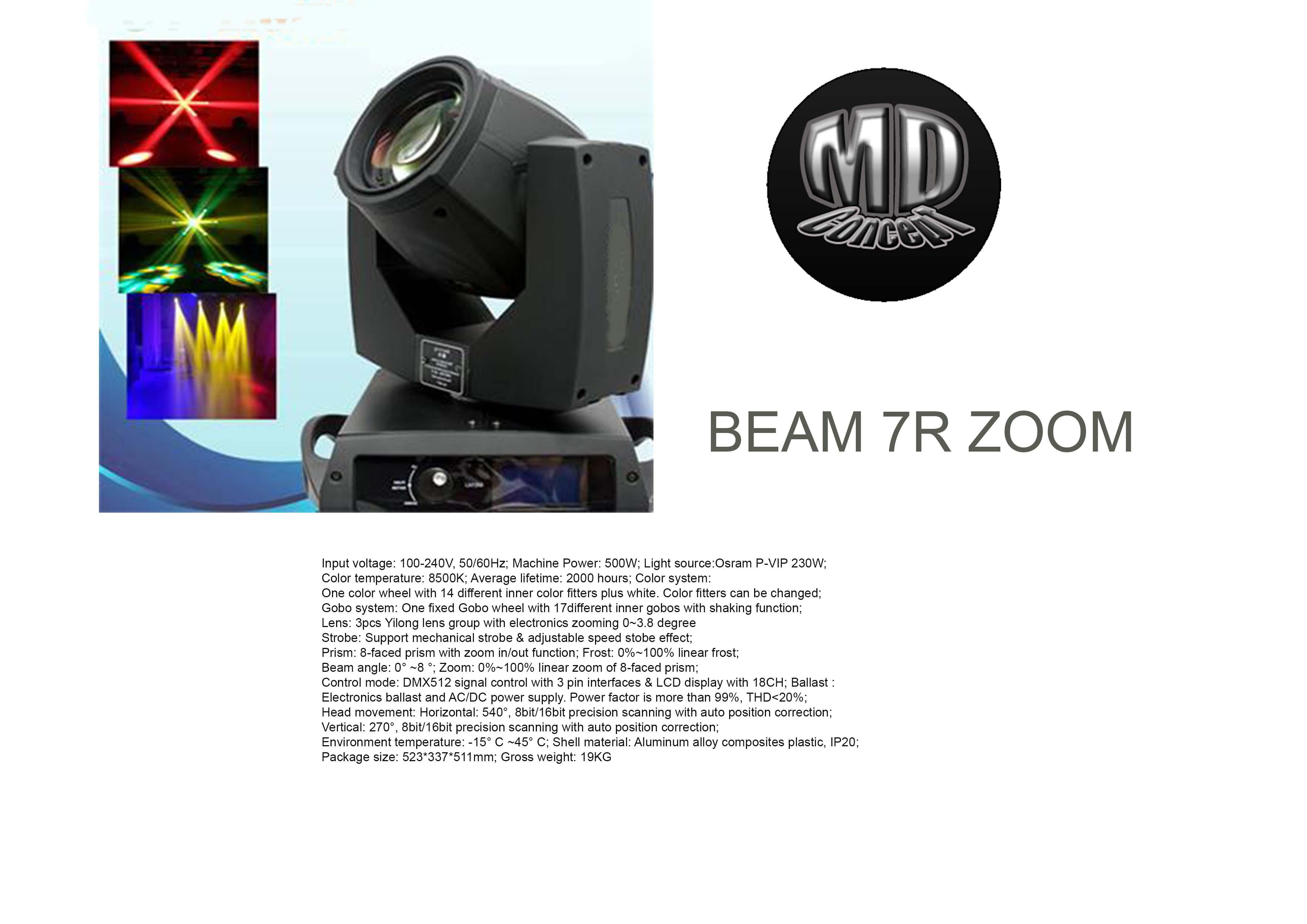 beam 7r starway beam 7r audiofanzine. Black Bedroom Furniture Sets. Home Design Ideas
