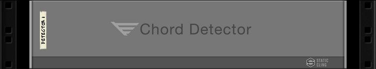 CHORD DETECTOR - Static Cling Chord Detector - Audiofanzine