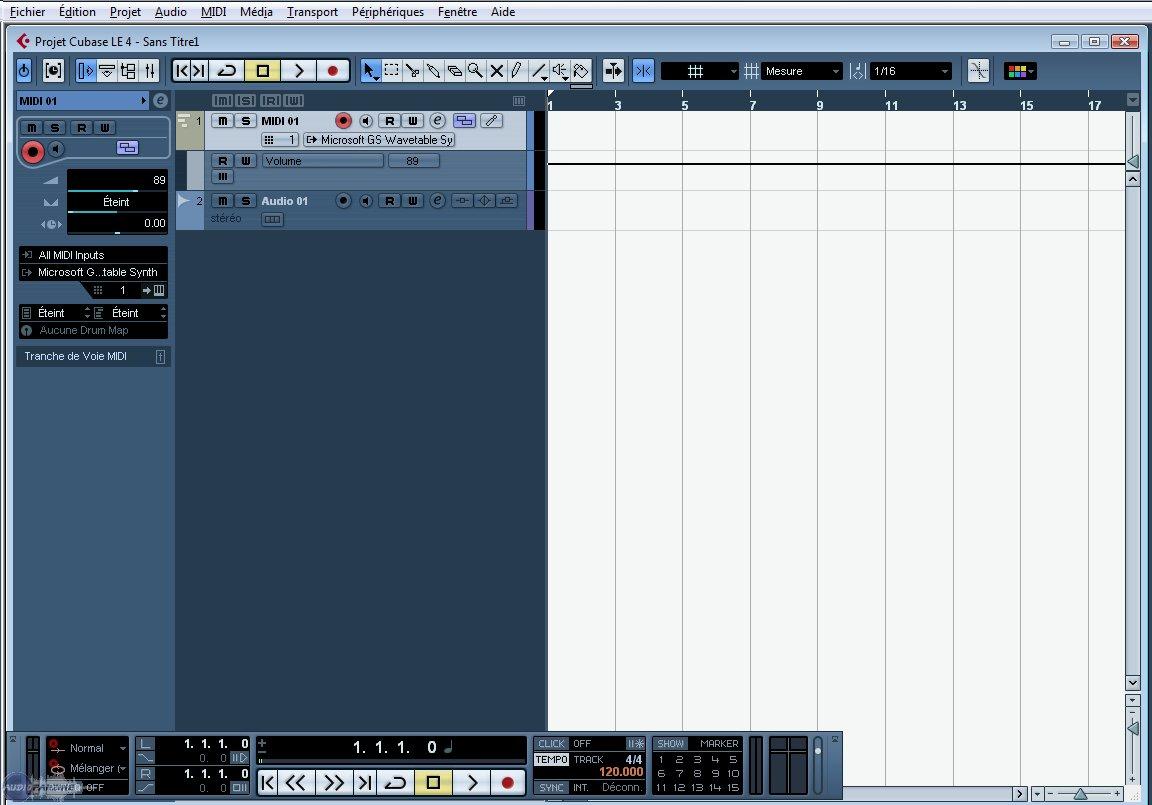 steinberg cubase le 4 image 221368 audiofanzine rh en audiofanzine com Steinberg Cubase SX Cubase VST Q