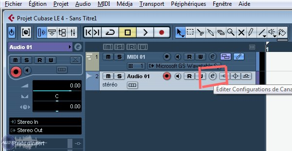 steinberg cubase le 4 image 221370 audiofanzine rh en audiofanzine com Steinberg Cubase 9 Steinberg Cubase SX