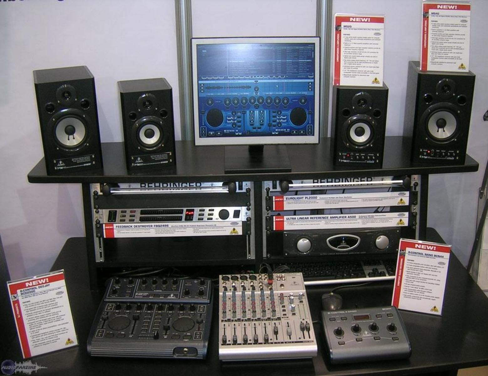 Studio home studio image 1915 audiofanzine - Home studio ...