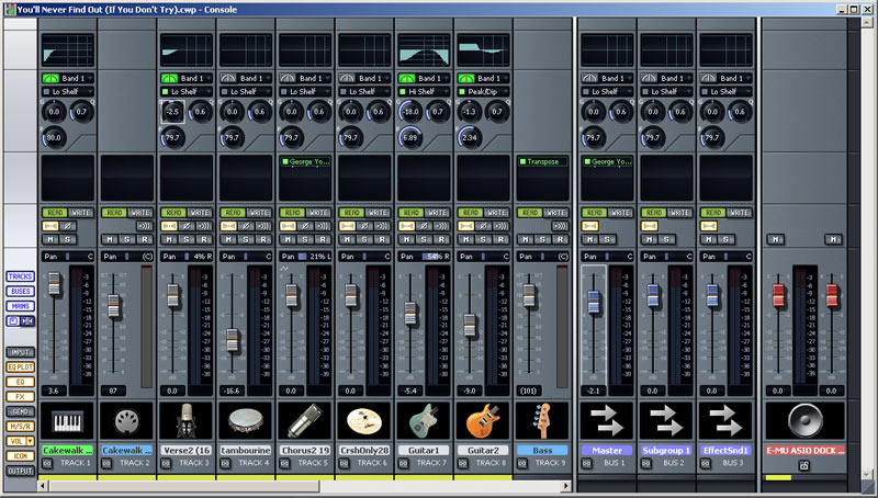 Mixage virtuel - Table de mixage virtuel a telecharger gratuitement ...