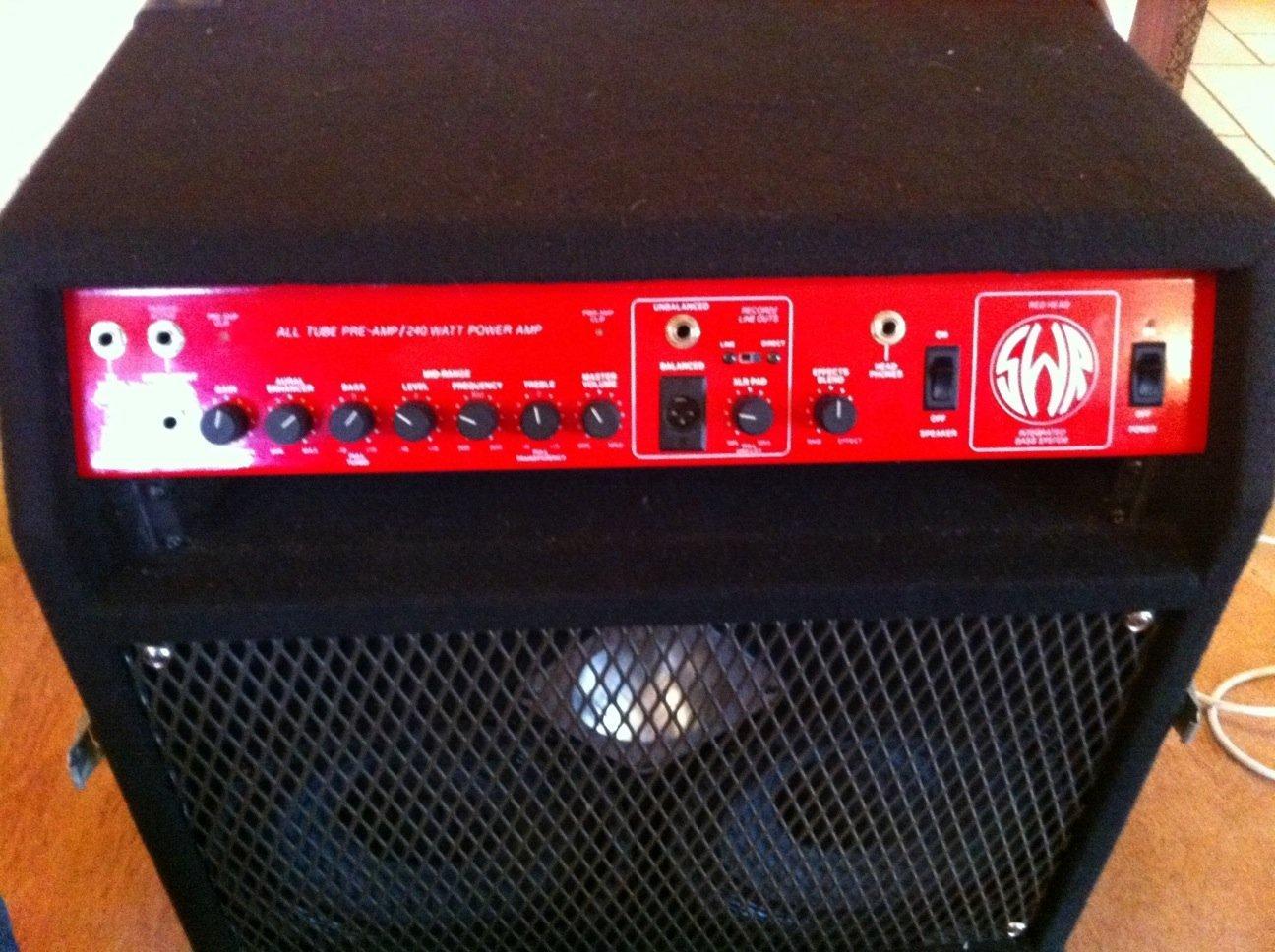 Swr redhead bass