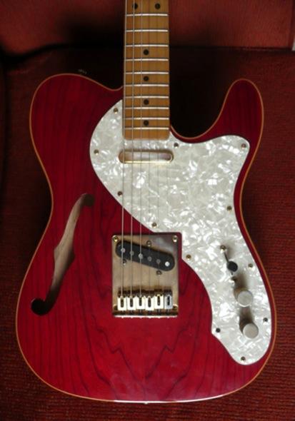 sx guitars telecaster thinline image 1372735 audiofanzine. Black Bedroom Furniture Sets. Home Design Ideas