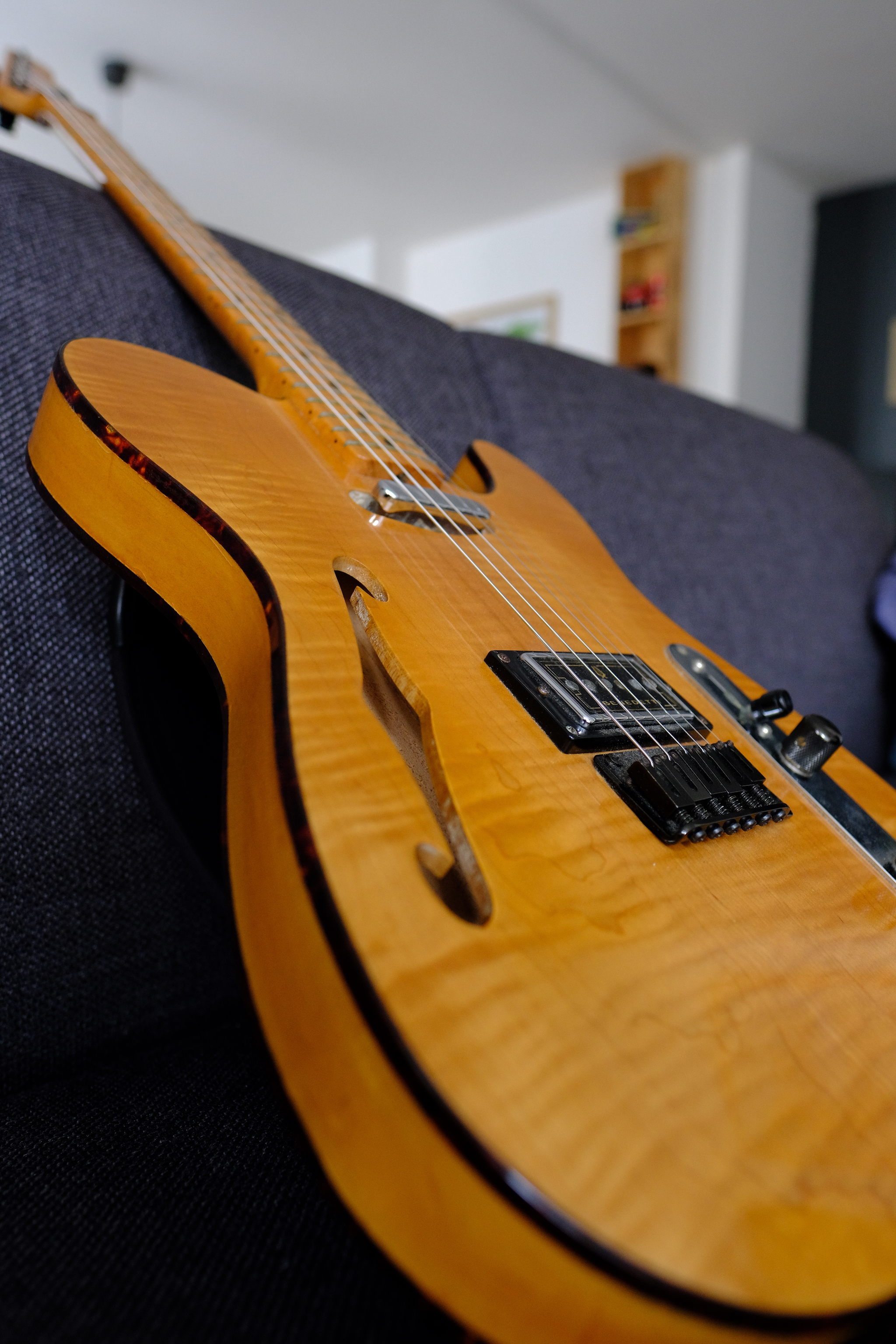 sx guitars telecaster thinline image 2021744 audiofanzine. Black Bedroom Furniture Sets. Home Design Ideas