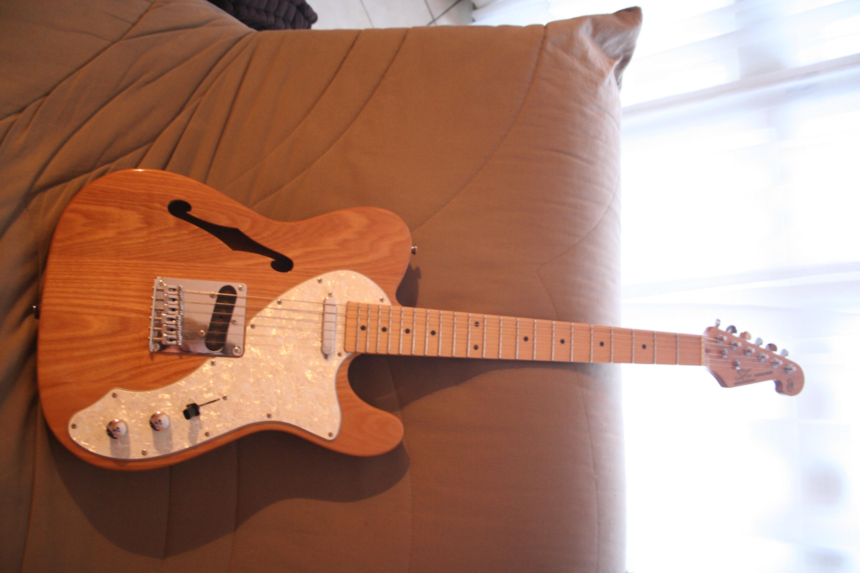 sx guitars telecaster thinline image 622859 audiofanzine. Black Bedroom Furniture Sets. Home Design Ideas