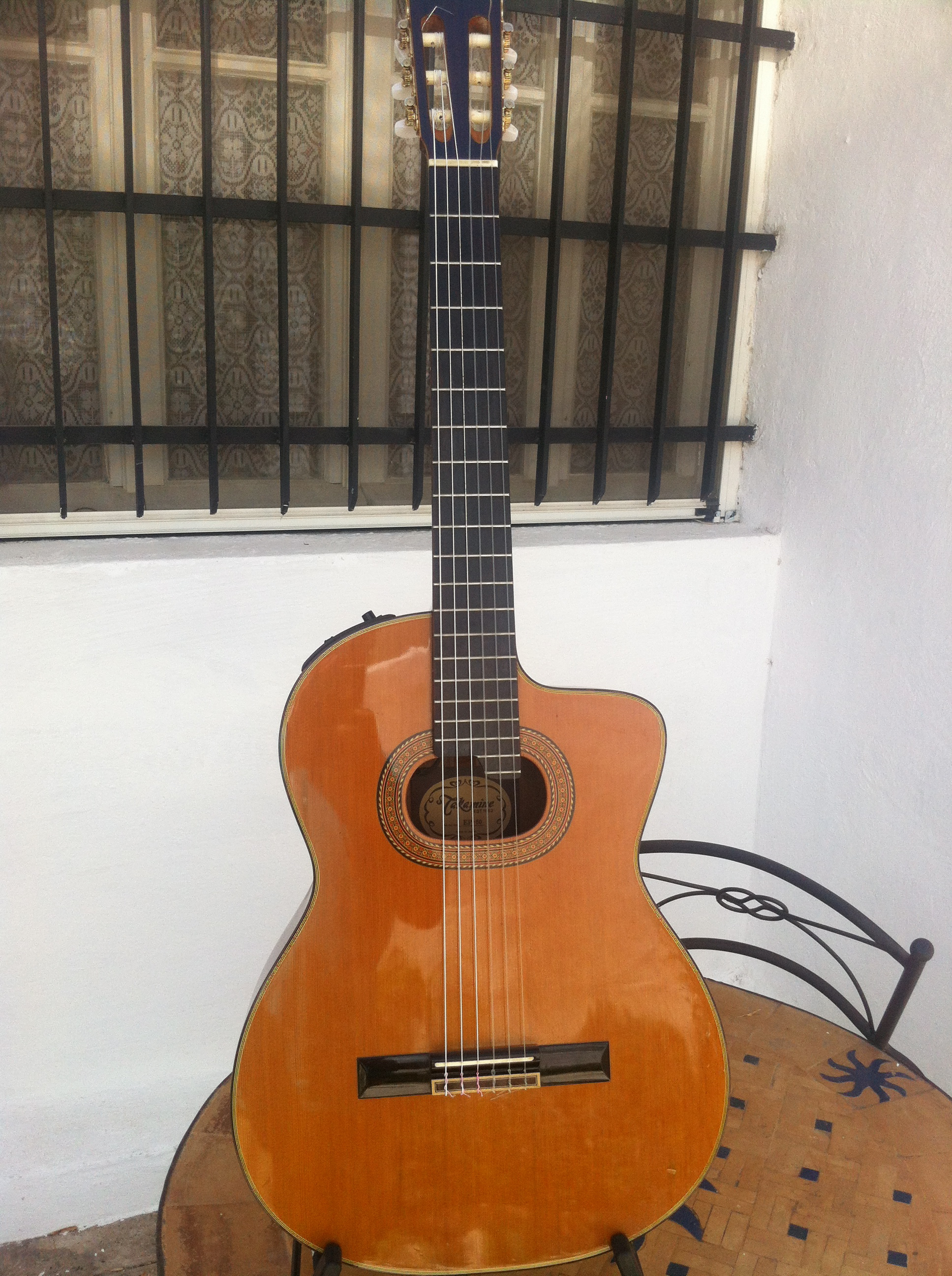 photo takamine ep50 takamine guitare nylon ep50 868844. Black Bedroom Furniture Sets. Home Design Ideas