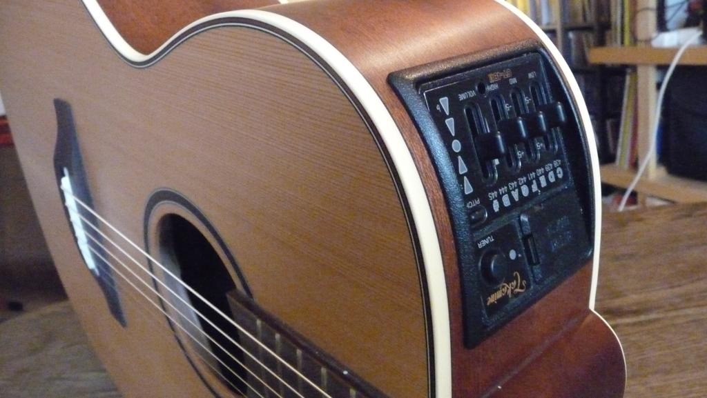 guitare classique qui se branche