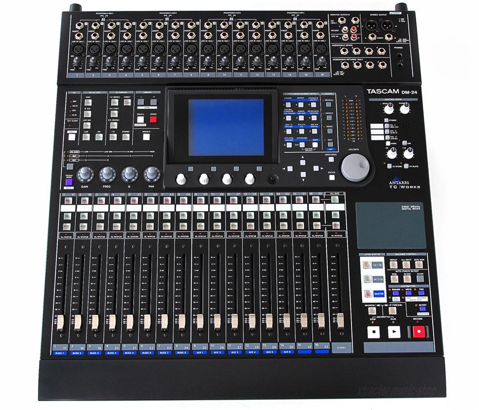 Tascam Digital Mixer Dm 24 : tascam dm 24 image 293688 audiofanzine ~ Hamham.info Haus und Dekorationen