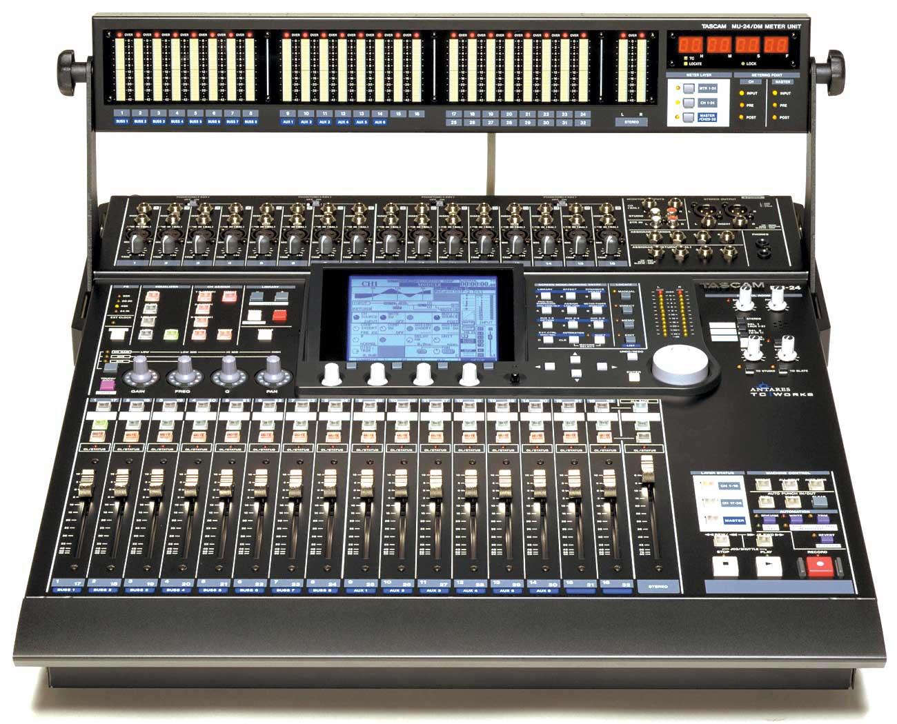 Tascam Digital Mixer Dm 24 : tascam dm 24 image 500012 audiofanzine ~ Hamham.info Haus und Dekorationen