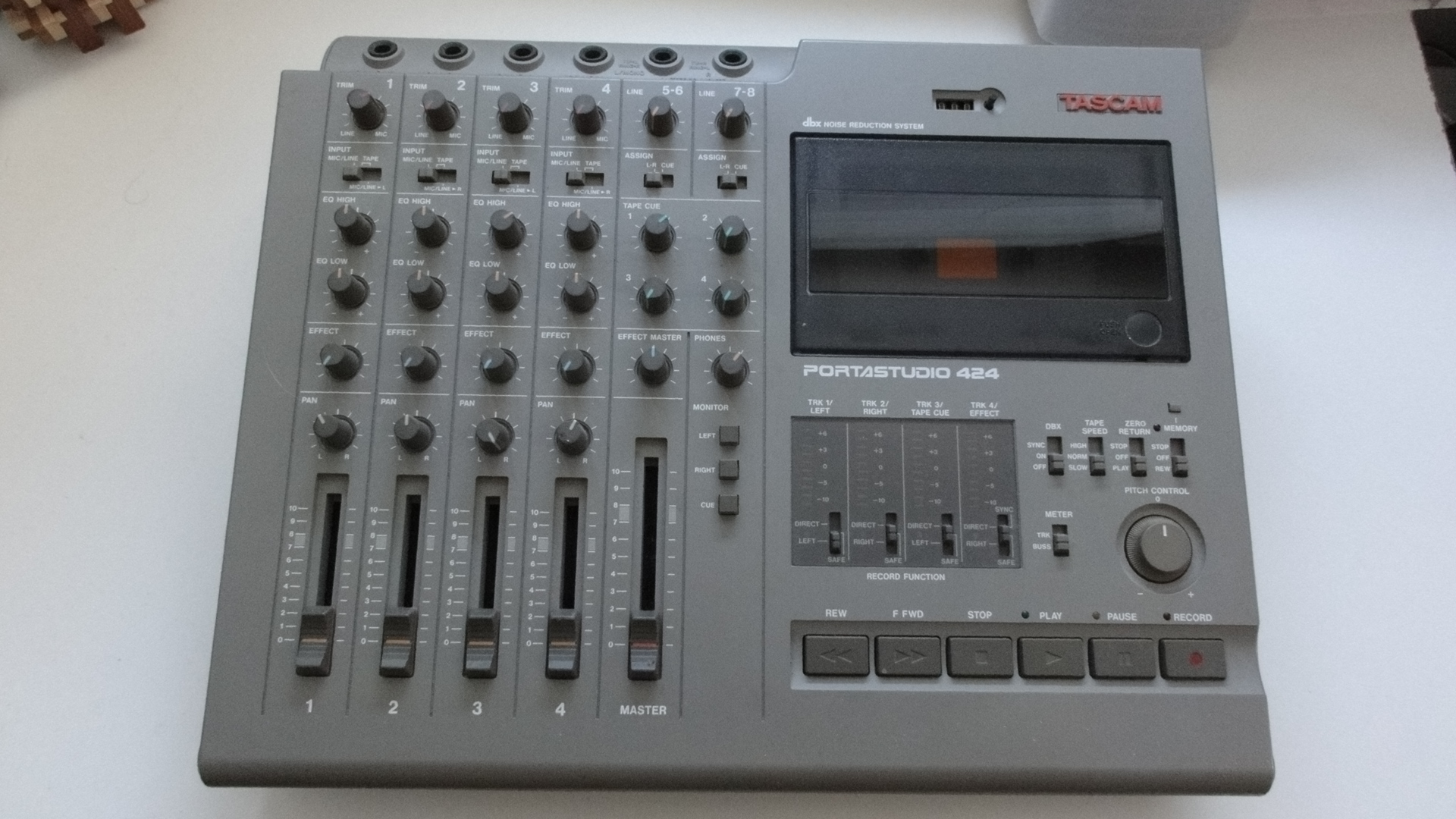 Tascam 424 mk iii review / home recording dot com.