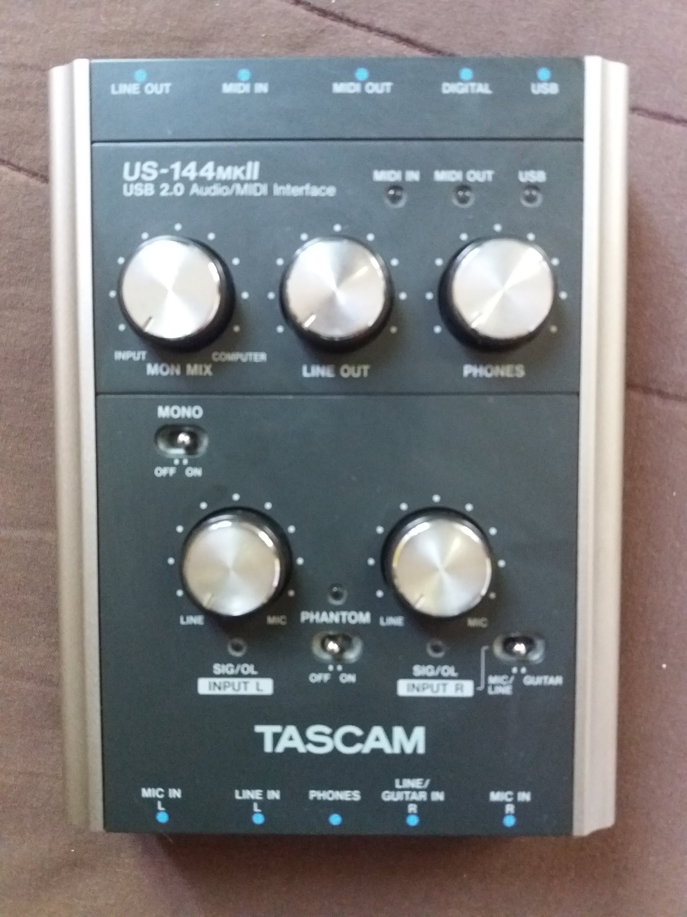 TASCAM US 144MKII WINDOWS VISTA DRIVER DOWNLOAD