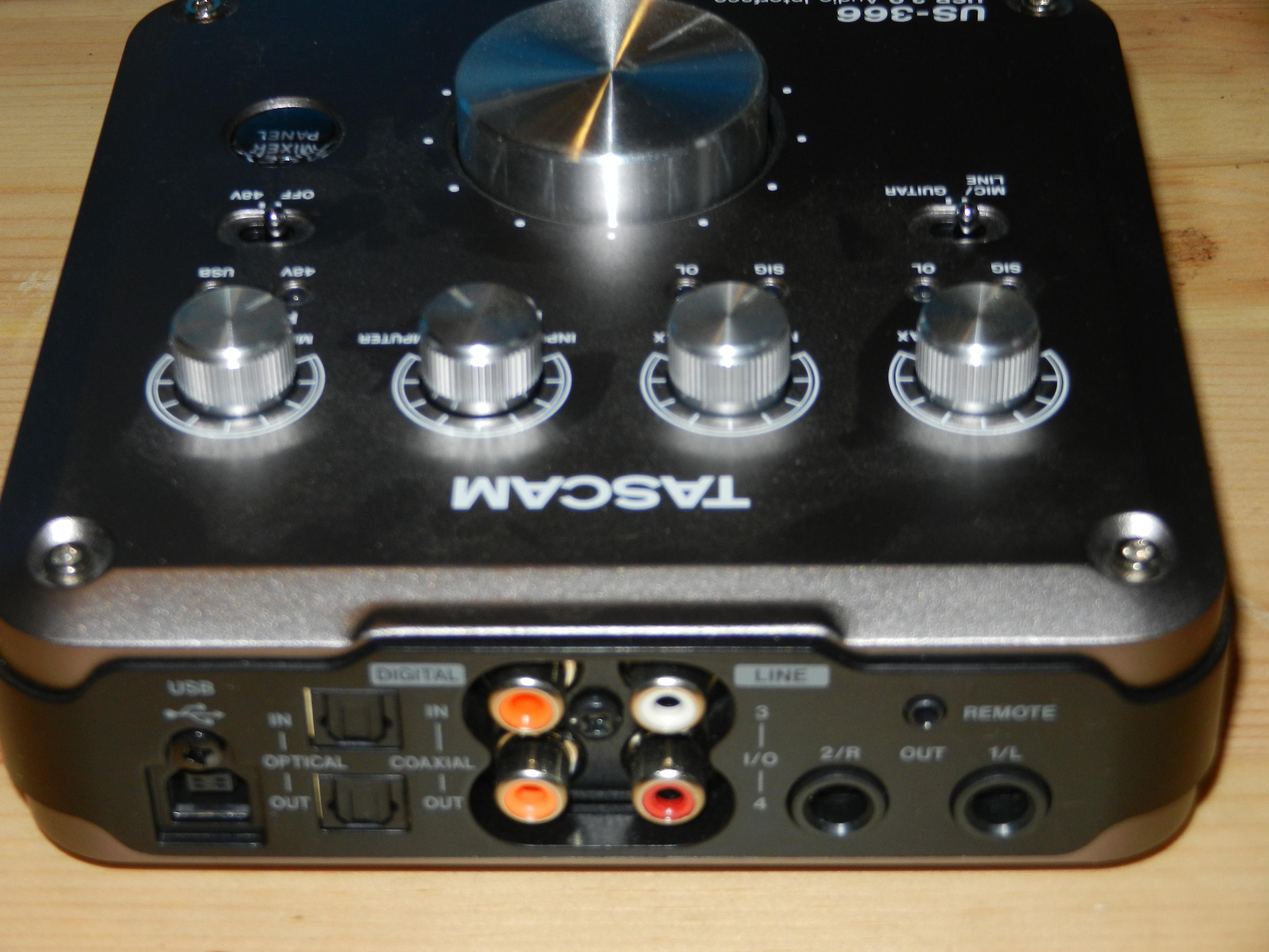 logiciel tascam us-322 usb interface audio driver télécharger