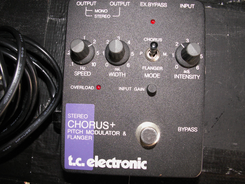 tc electronic scf stereo chorus flanger image 310376 audiofanzine. Black Bedroom Furniture Sets. Home Design Ideas