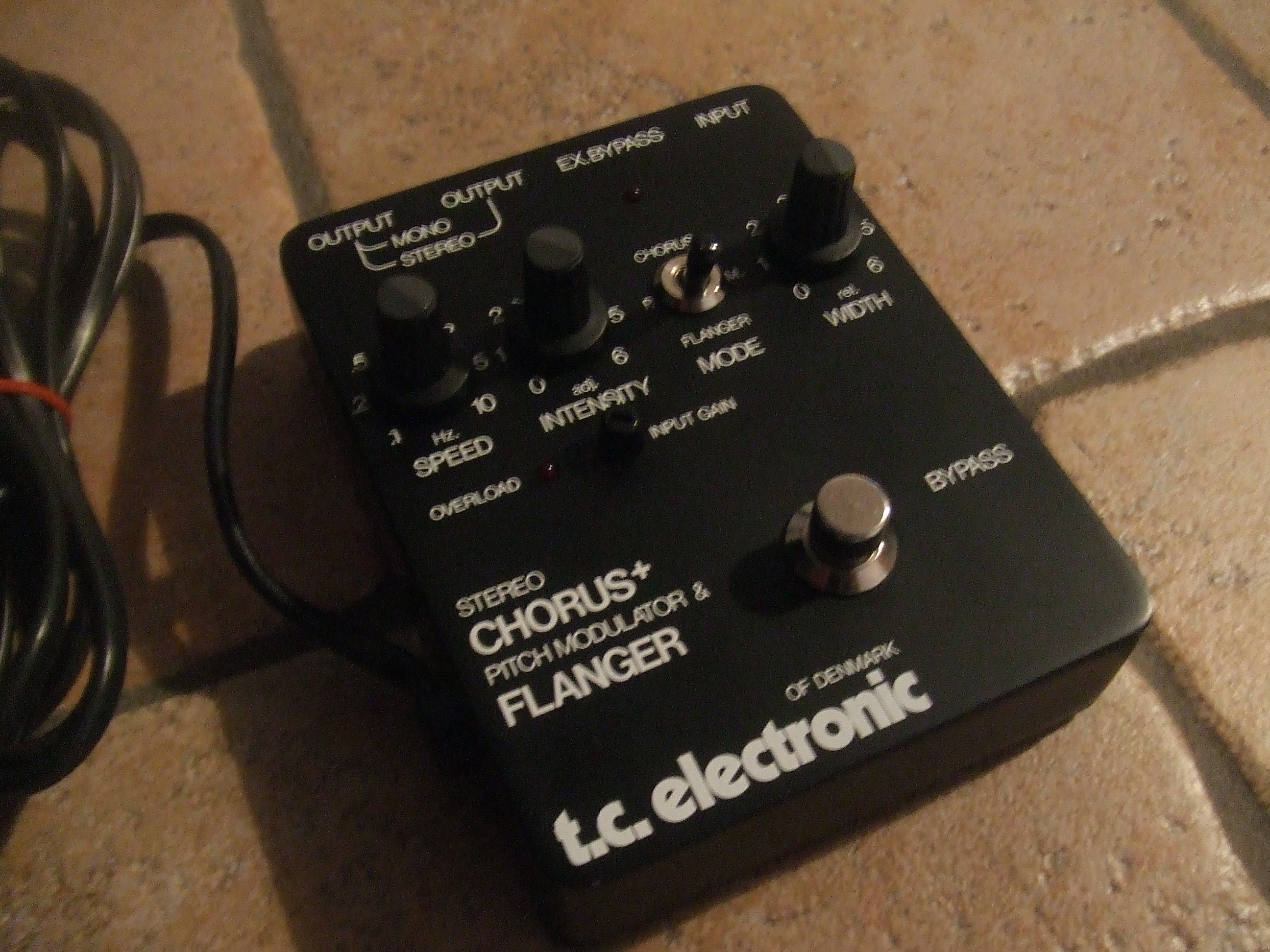 fs tc electronic stereo chorus flanger fx discussions on thefretboard. Black Bedroom Furniture Sets. Home Design Ideas