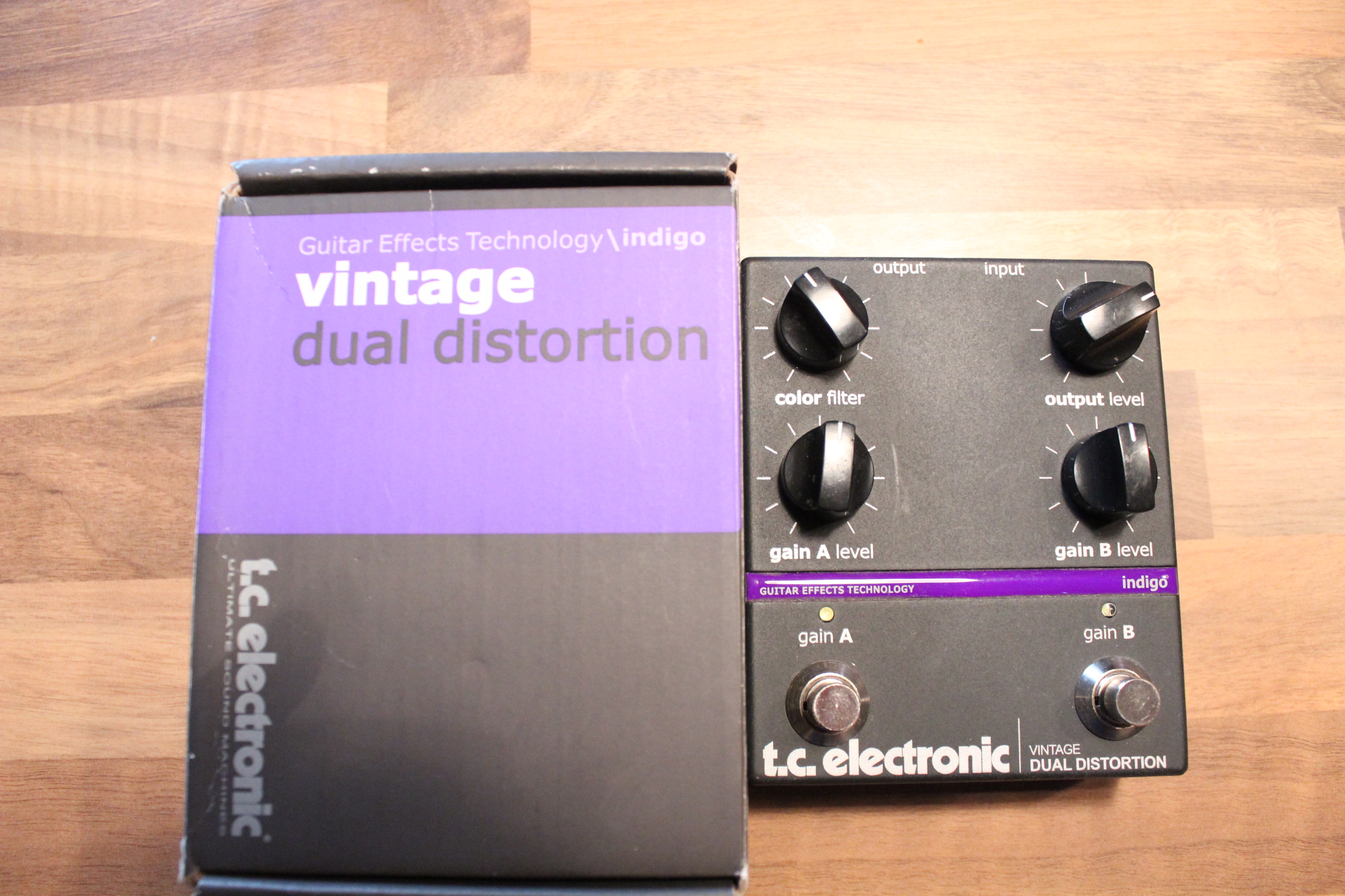 Tc Electronics Vintage Dual Distortion 11