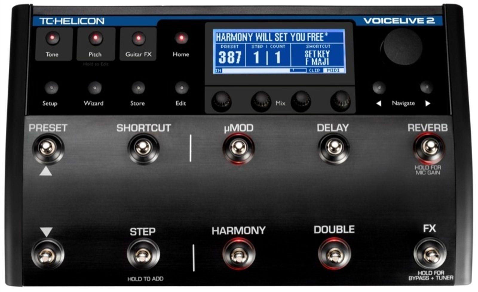 test du voice live 2 de tc helicon le choeur au bout du pied audiofanzine. Black Bedroom Furniture Sets. Home Design Ideas