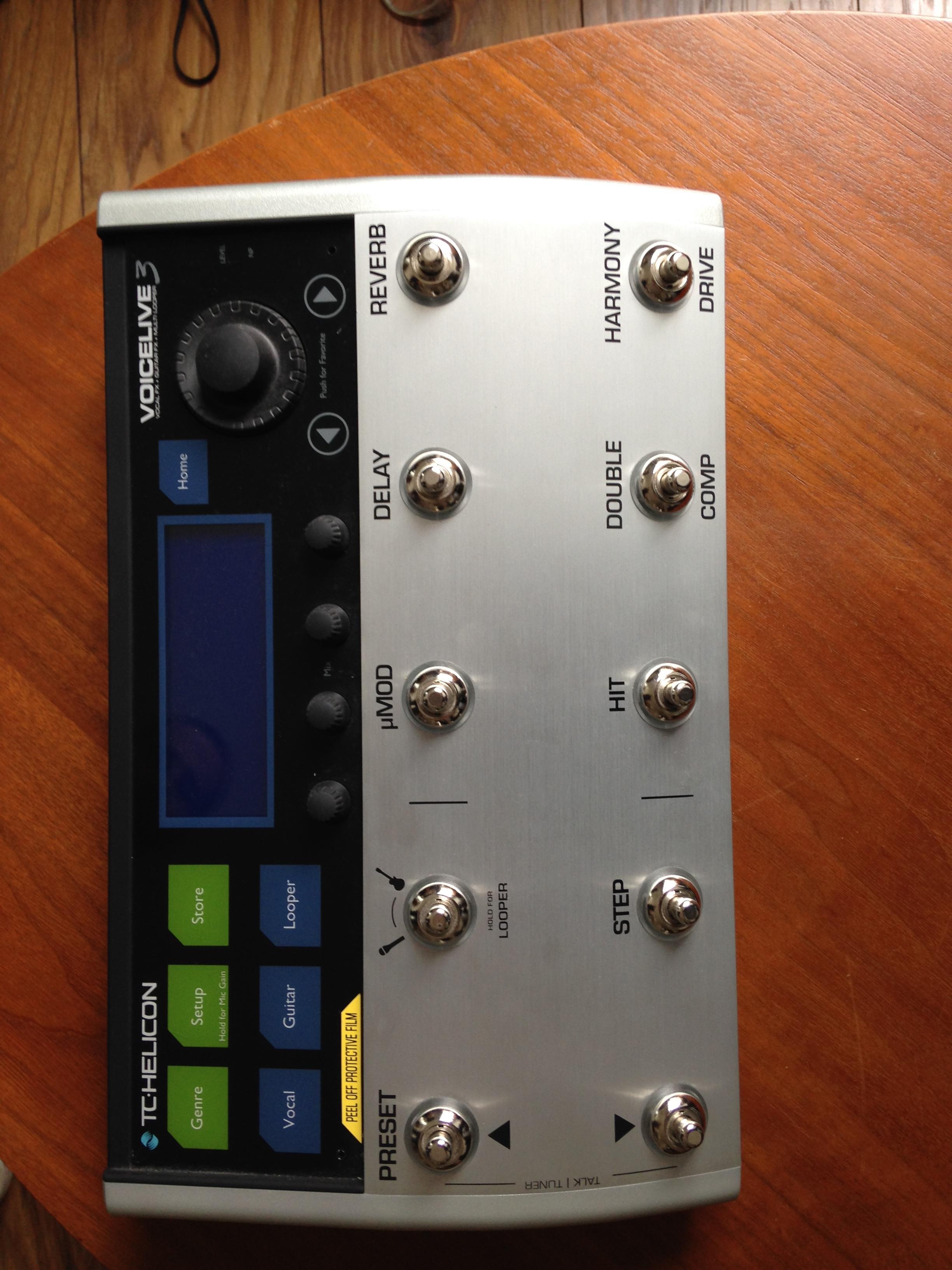 VOICELIVE 3 - TC-Helicon VoiceLive 3 - Audiofanzine