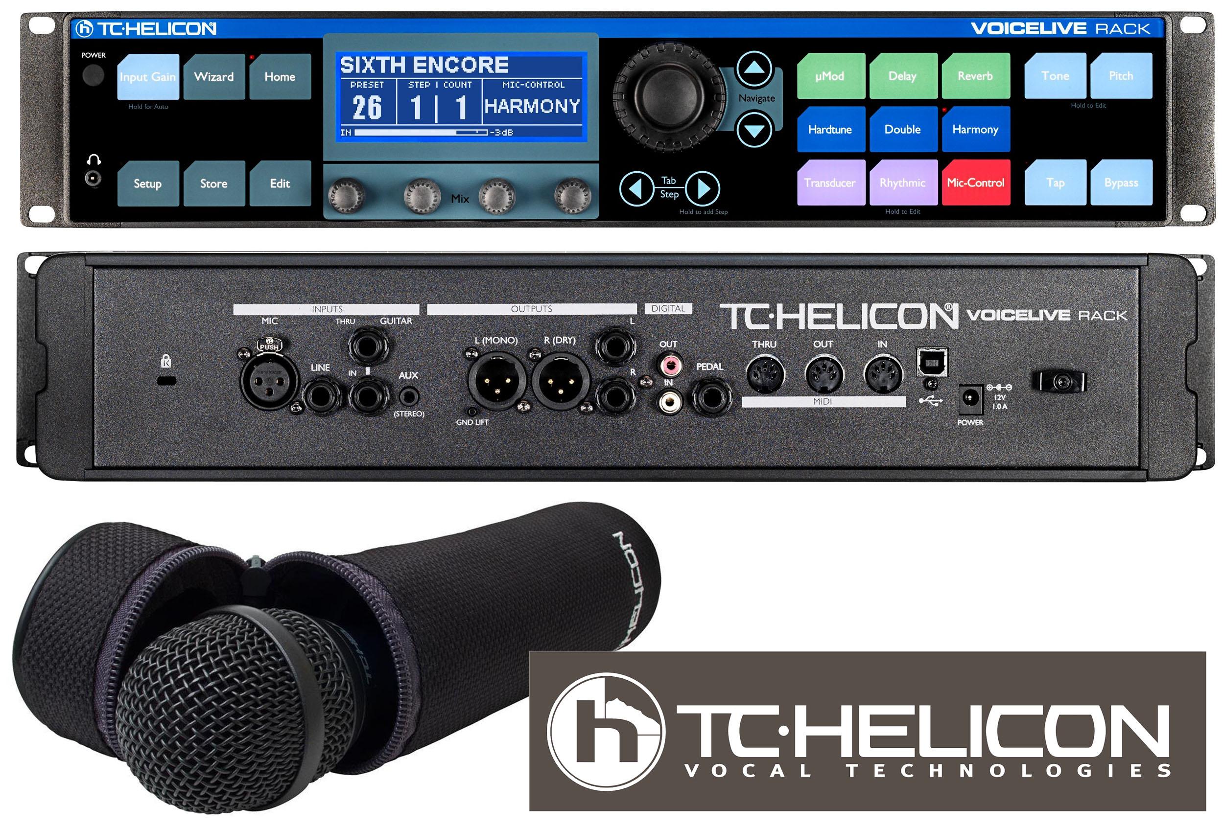 Tc Helicon Voicelive Rack Image 655524 Audiofanzine