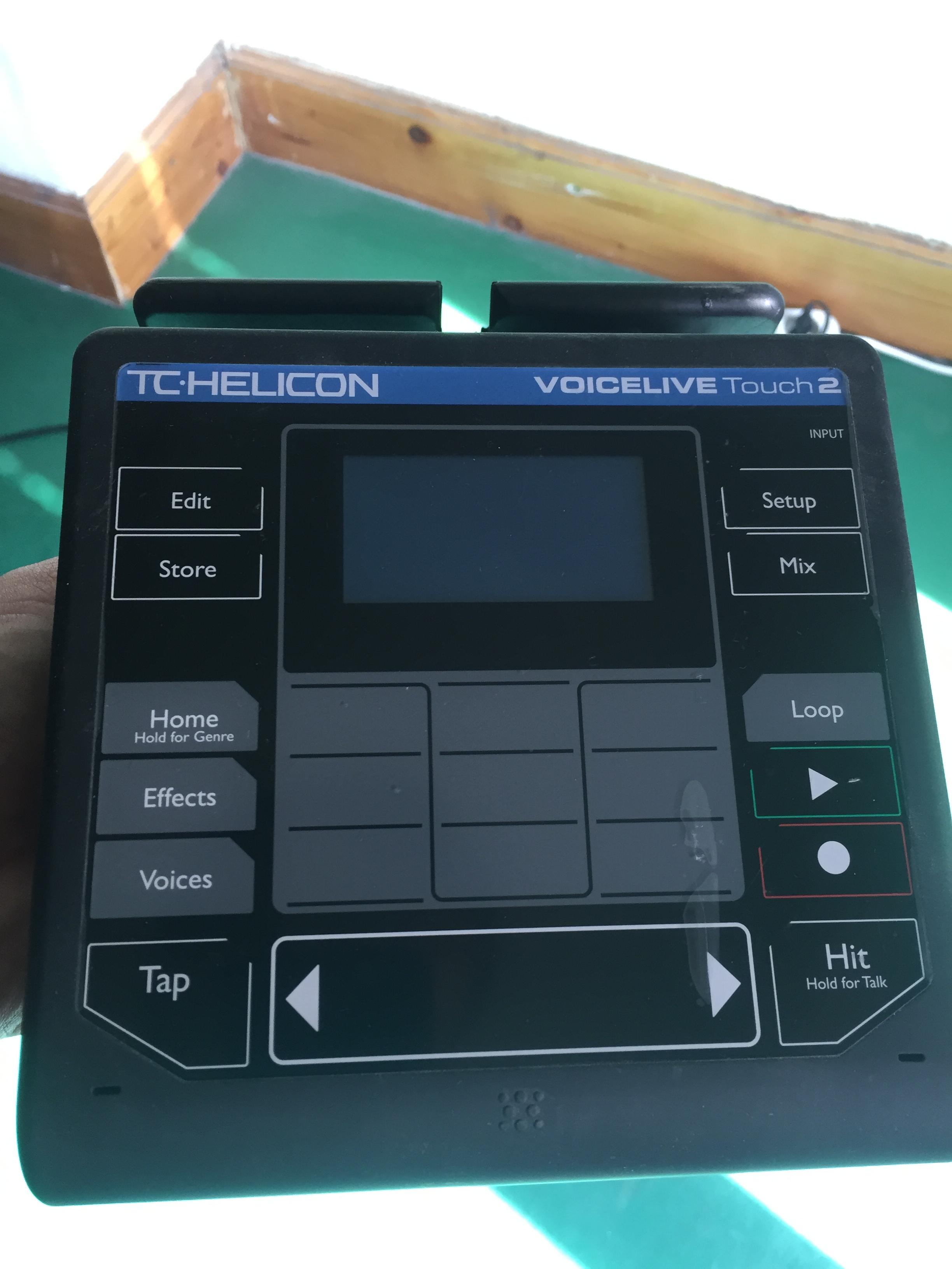 tc helicon voicelive touch 2 image 1420074 audiofanzine. Black Bedroom Furniture Sets. Home Design Ideas