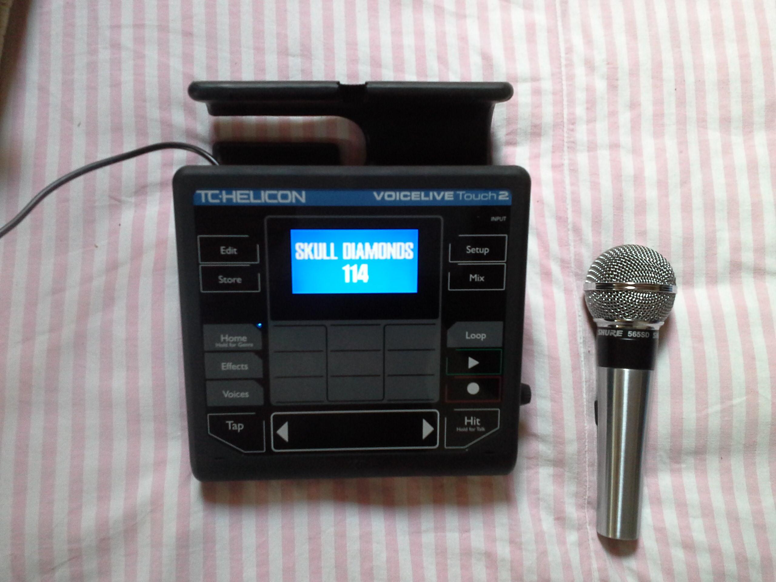 tc helicon voicelive touch 2 image 1804670 audiofanzine. Black Bedroom Furniture Sets. Home Design Ideas