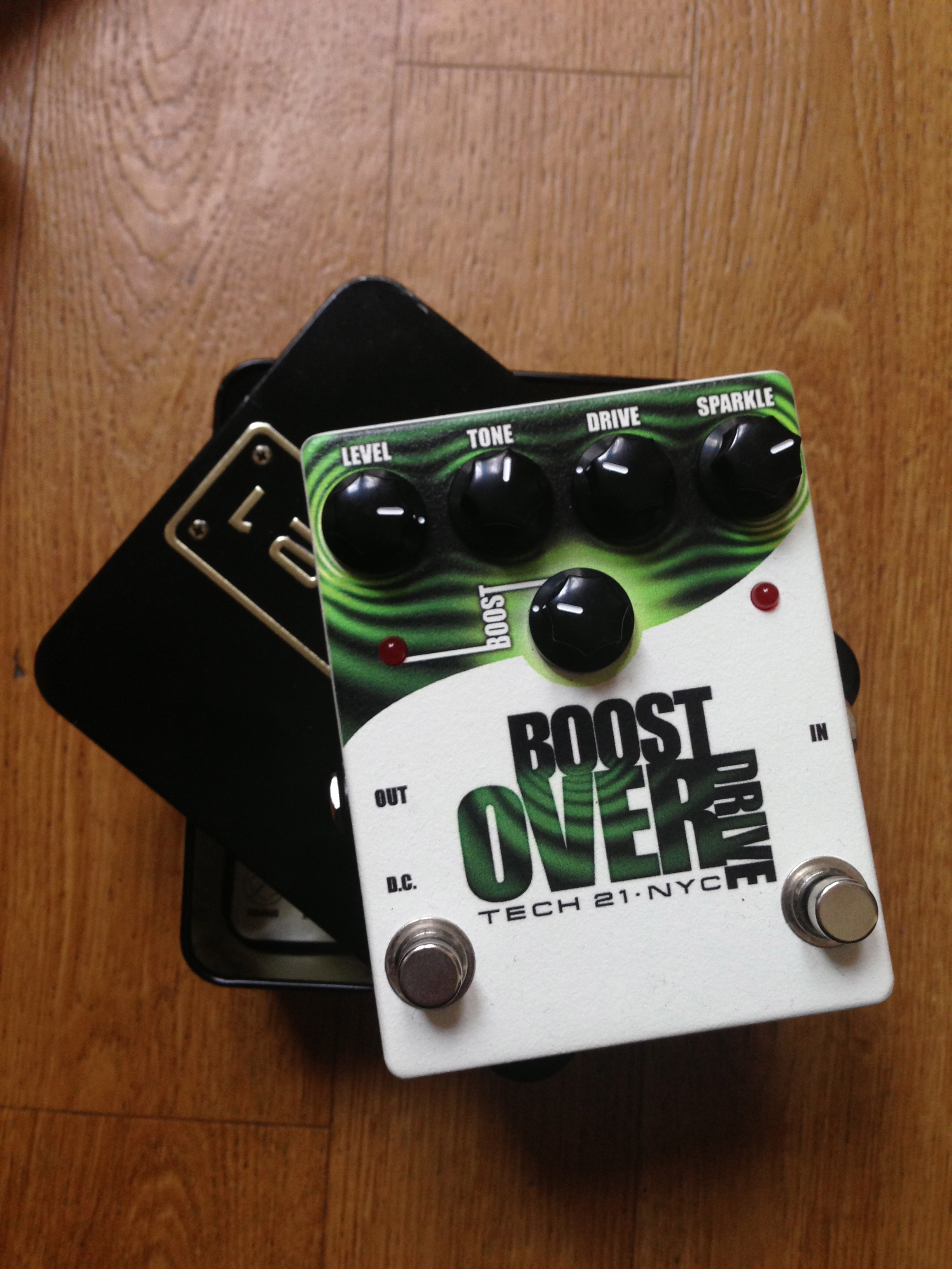 boost overdrive tech 21 boost overdrive audiofanzine