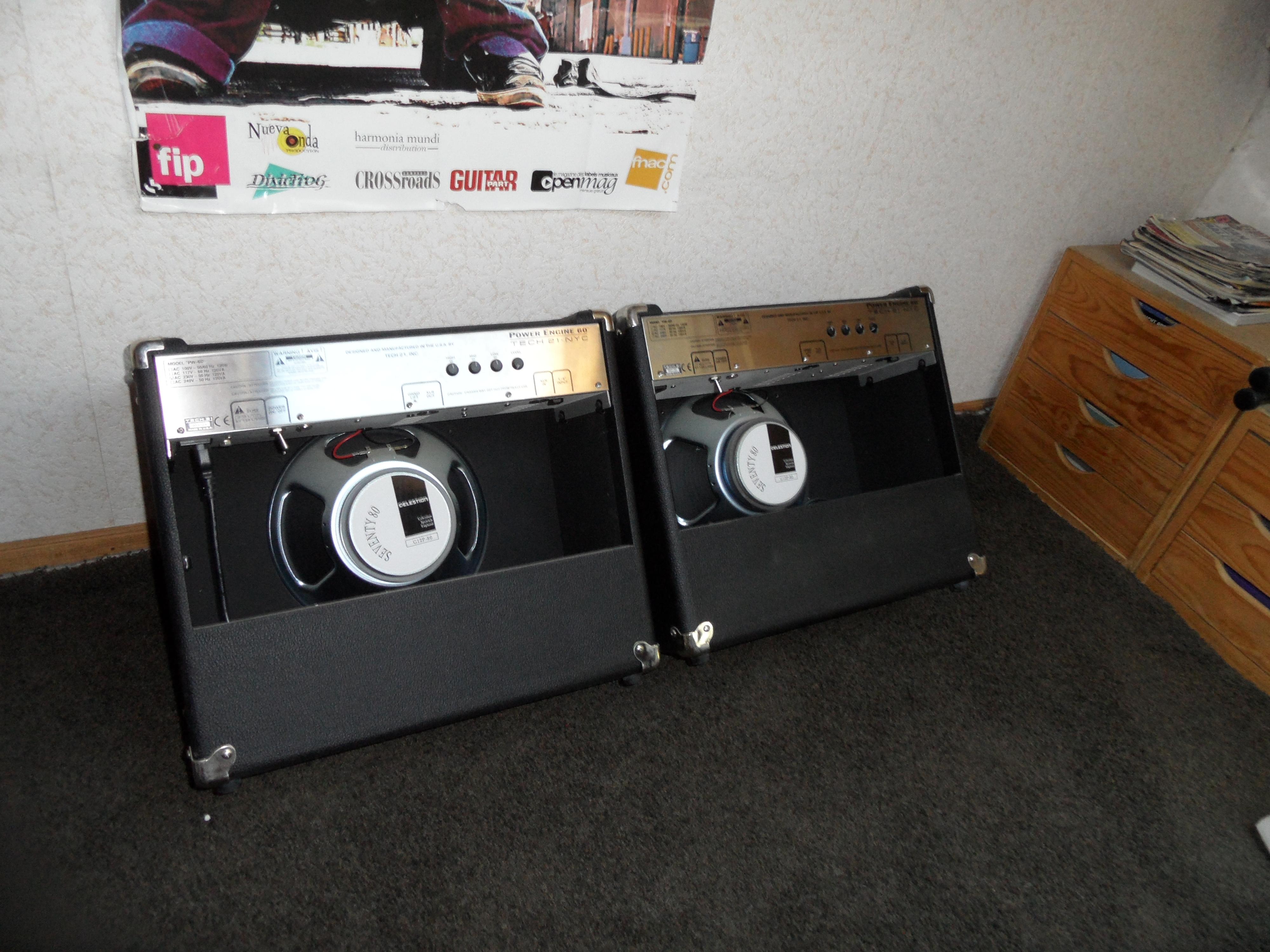 tech 21 power engine 60 1x12 image 1512082 audiofanzine. Black Bedroom Furniture Sets. Home Design Ideas