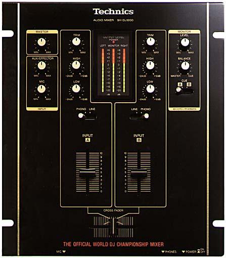 table de mixage technics sh-dj1200