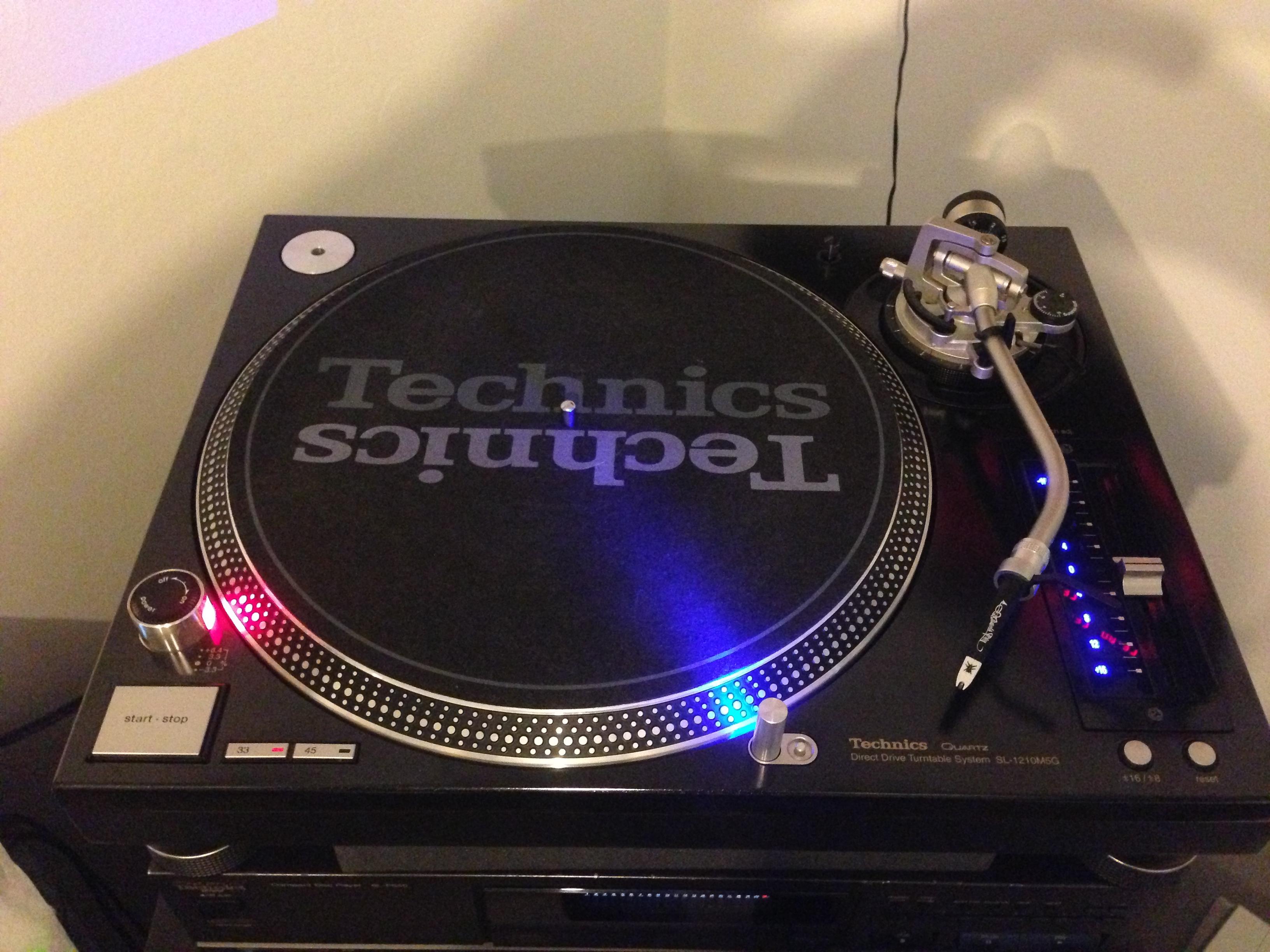 Technics Sl 1210 M5g Image 493904 Audiofanzine