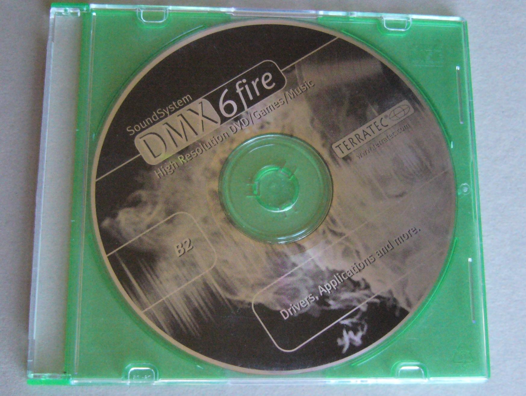 TERRATEC SOUNDSYSTEM DMX 6FIRE DRIVER FOR PC