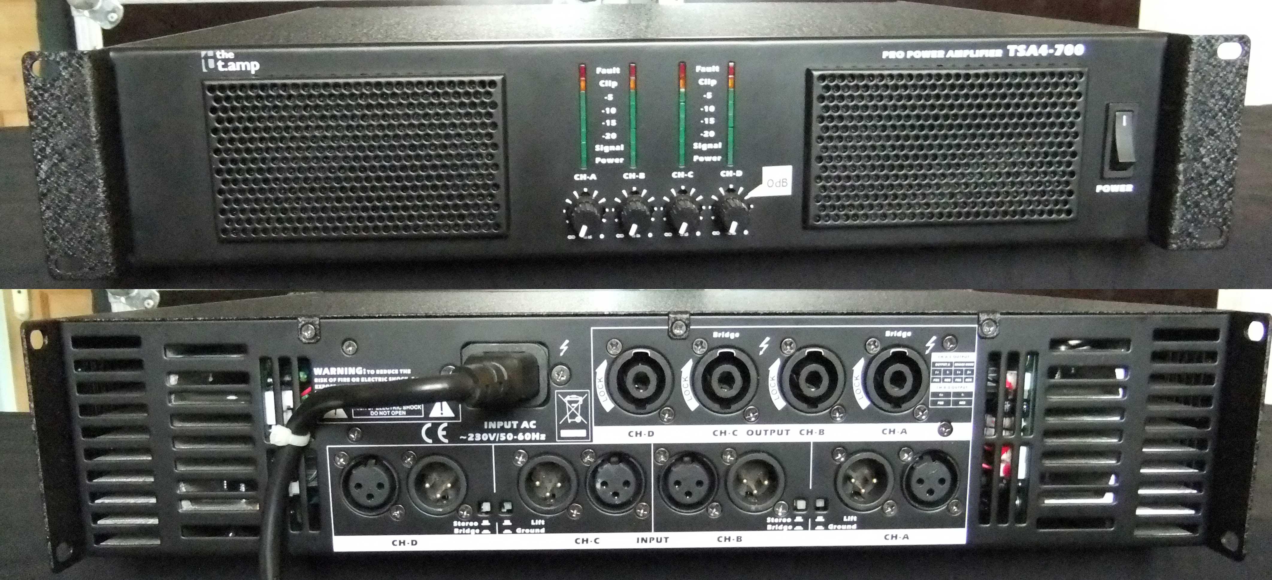 T.AMP TSA4-700 OWNER'S MANUAL Pdf Download.